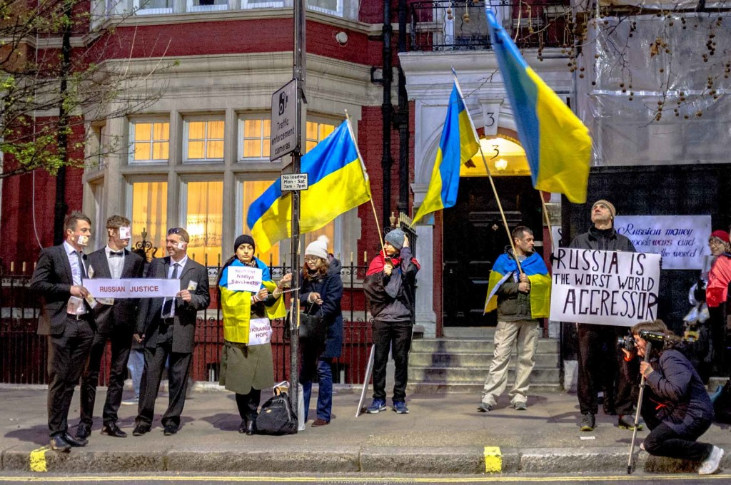 Russian embassy, Ukrainian protest, russian consulate, russian consulate visa, protests