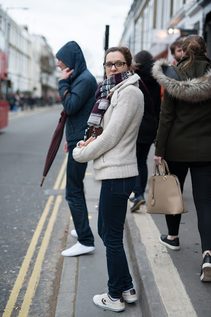 Blog - picture of Marlena on Portobello Road.