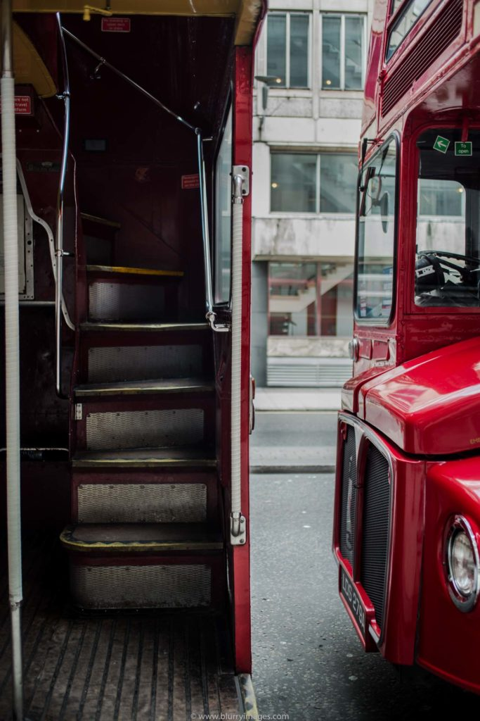 tastes of London, red buses