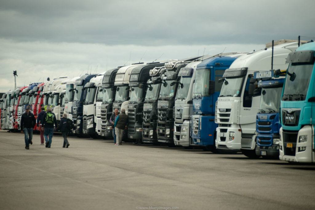 MotoGP Silverstone, motogp lorries, parking