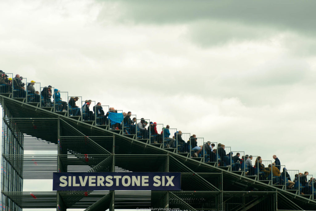 spectators watching race, MotoGP Silverstone