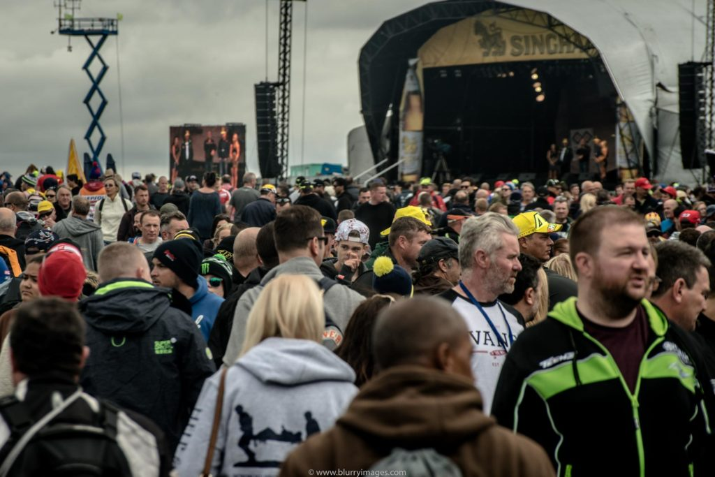MotoGP Silverstone, crowds at Silverstone